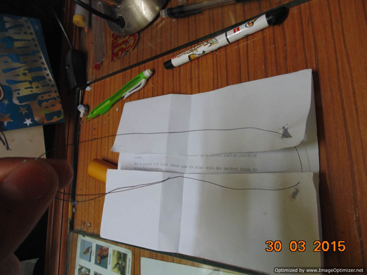 Picture of MAKING THE SIMPLE KITE !!