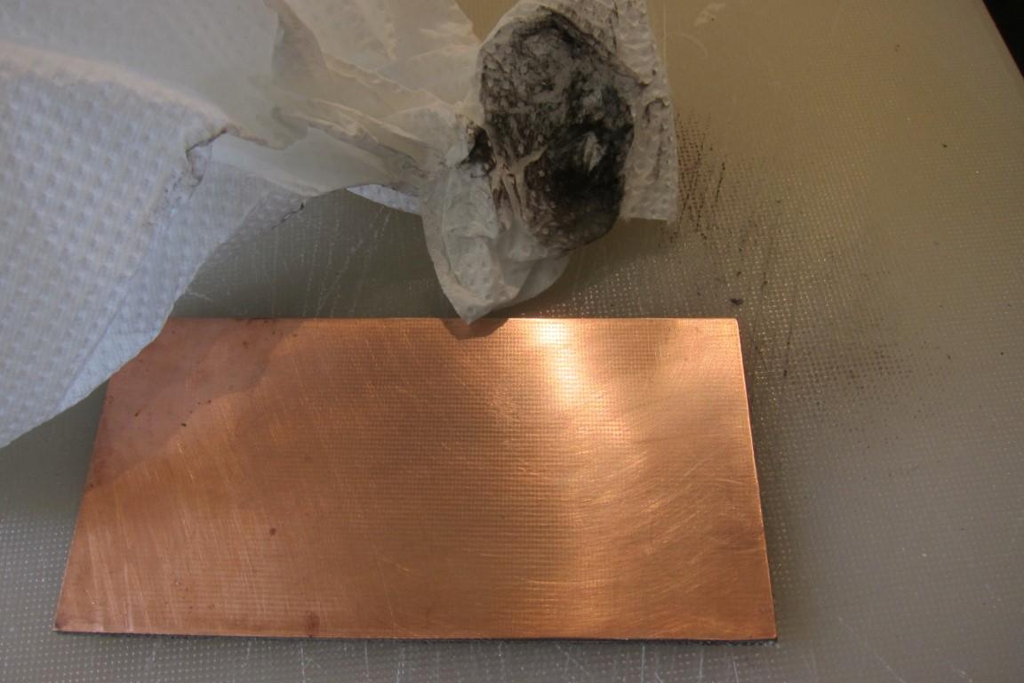 Picture of PCB Copper Board Prep