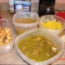 Chicken Curry Samosas