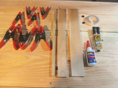 Creating the Saw Guide - Tools and Materials