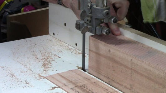 Resaw Everything on the Band Saw.