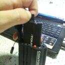 Contour GPS battery release camera