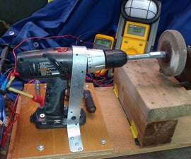 Hand Crank Generator / Battery Charger