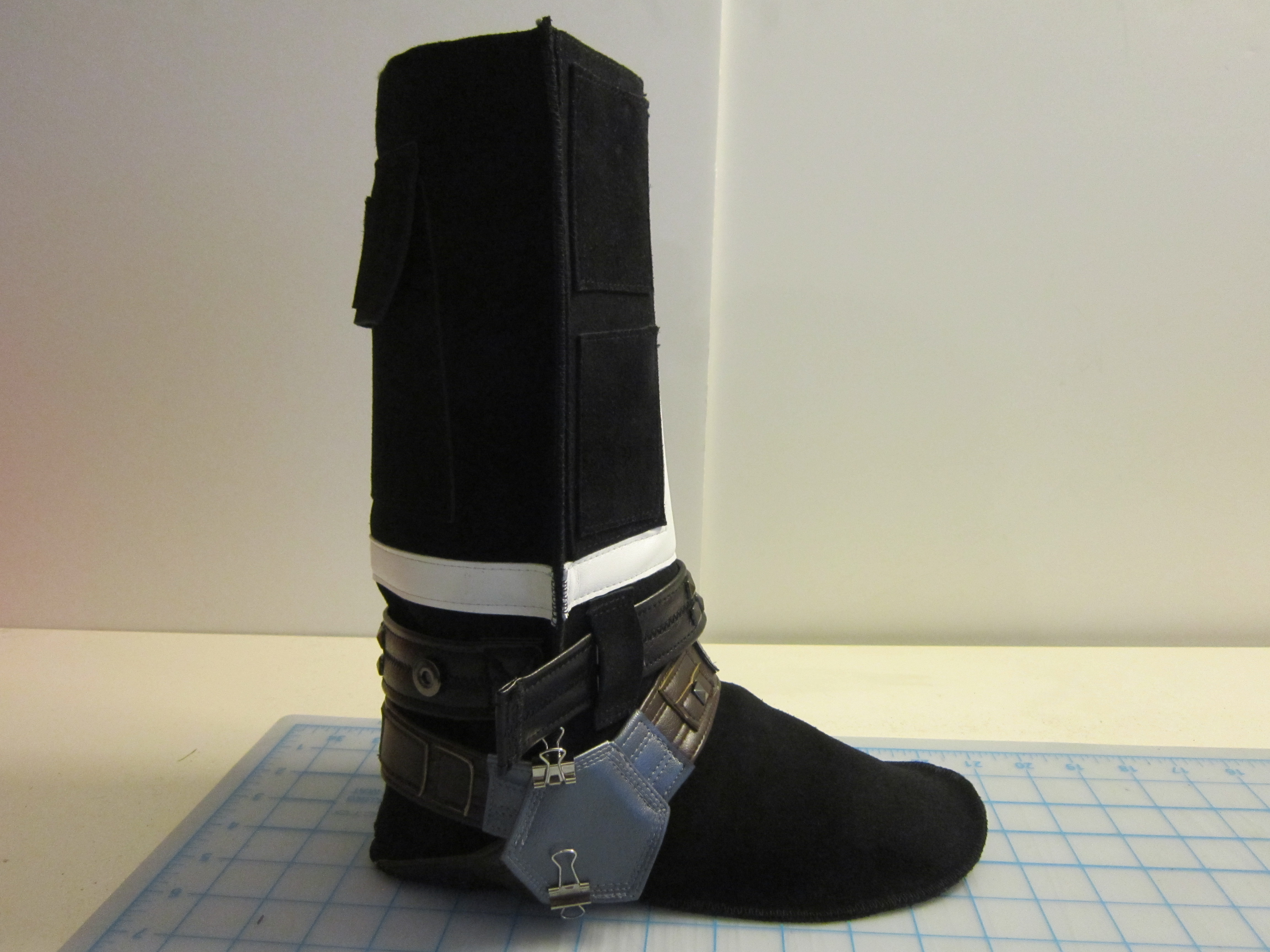 Picture of Sewing the Boot Together