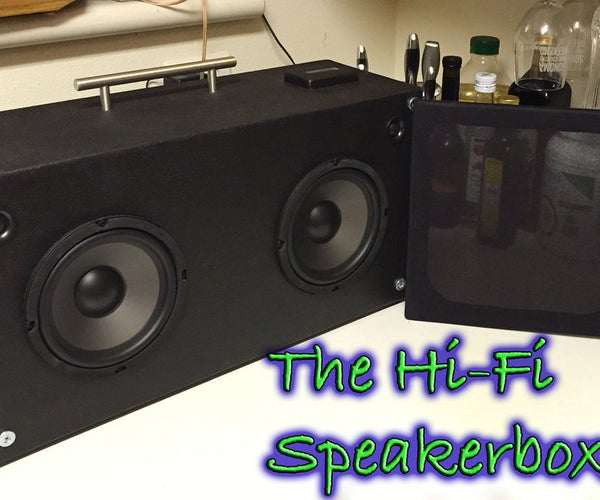 The Speakerboxxx - Hi-Fi BT Boombox From Scratch!