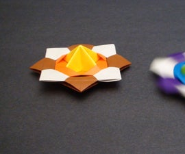 How to make a Paper Spinning Top (Modular Action Origami) - TCGames [HD]!