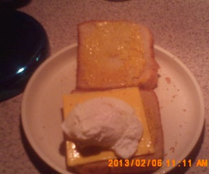 Poached Egg Sandwich.