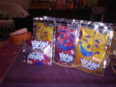 How to Make a Kool-aid Bag and Wallet