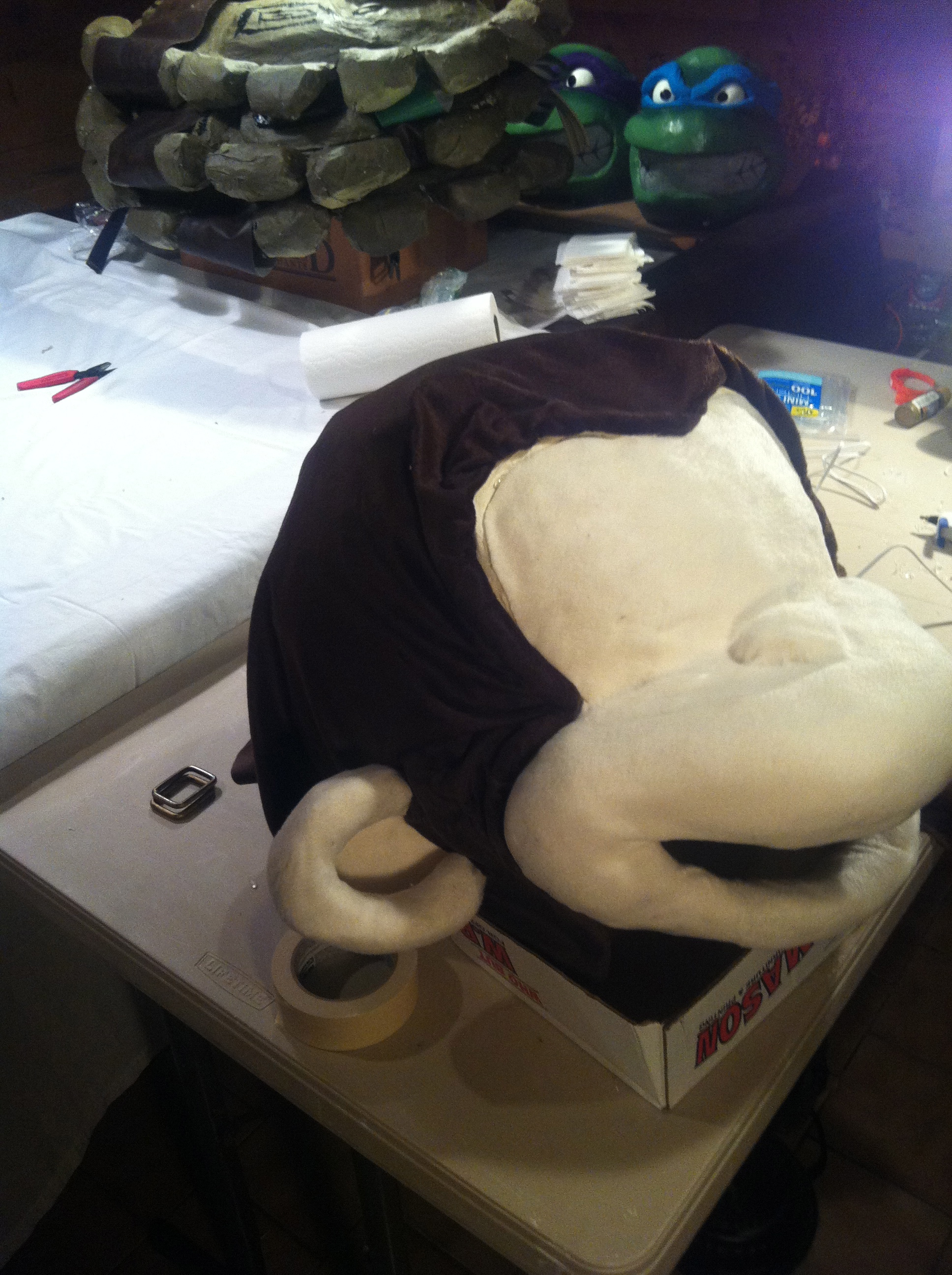 Picture of Adding the Brown Fur