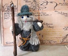 Crochet Gandalf the Grey