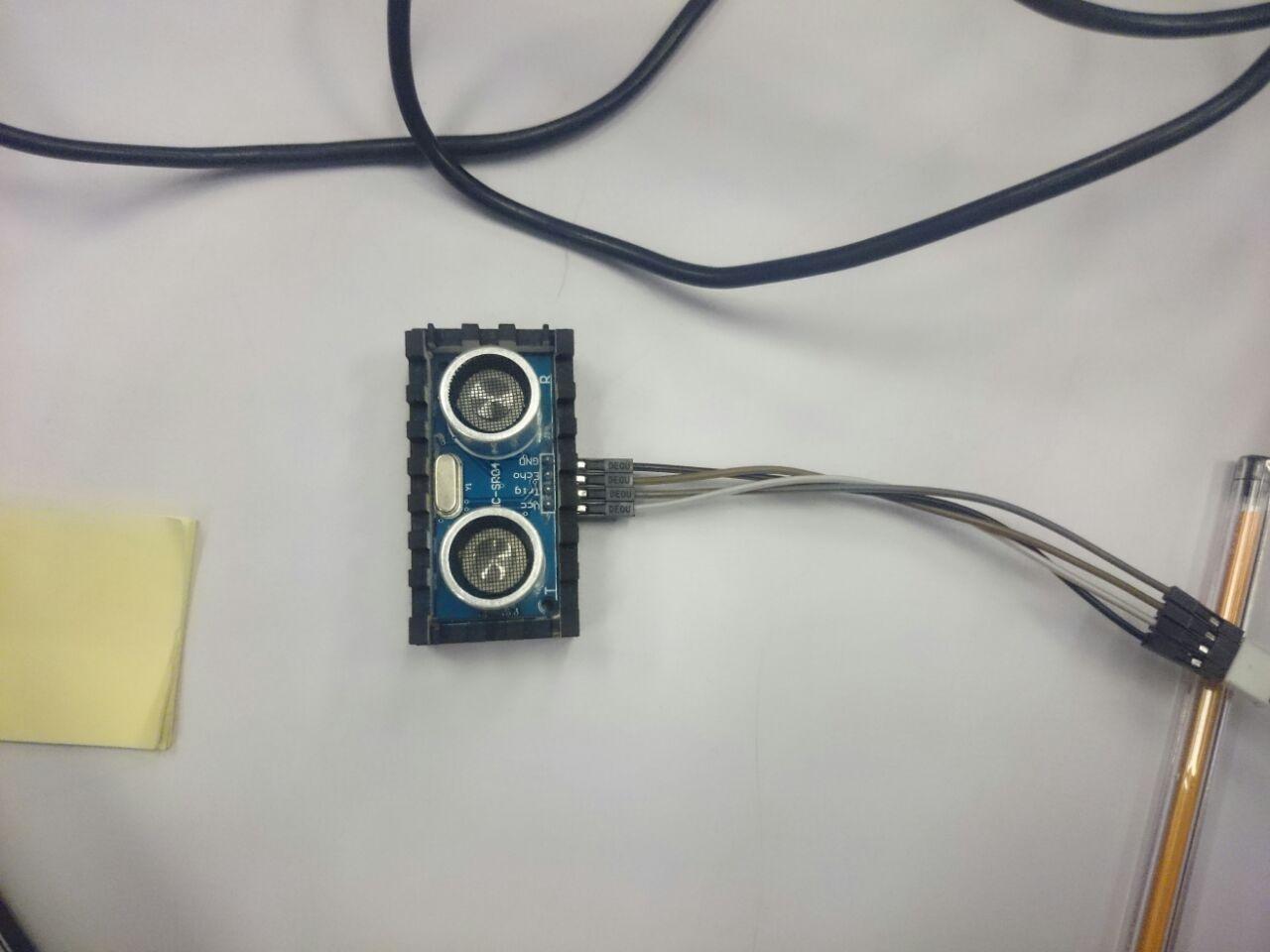Picture of  Conectando O Sensor De Distância Ultrassônico