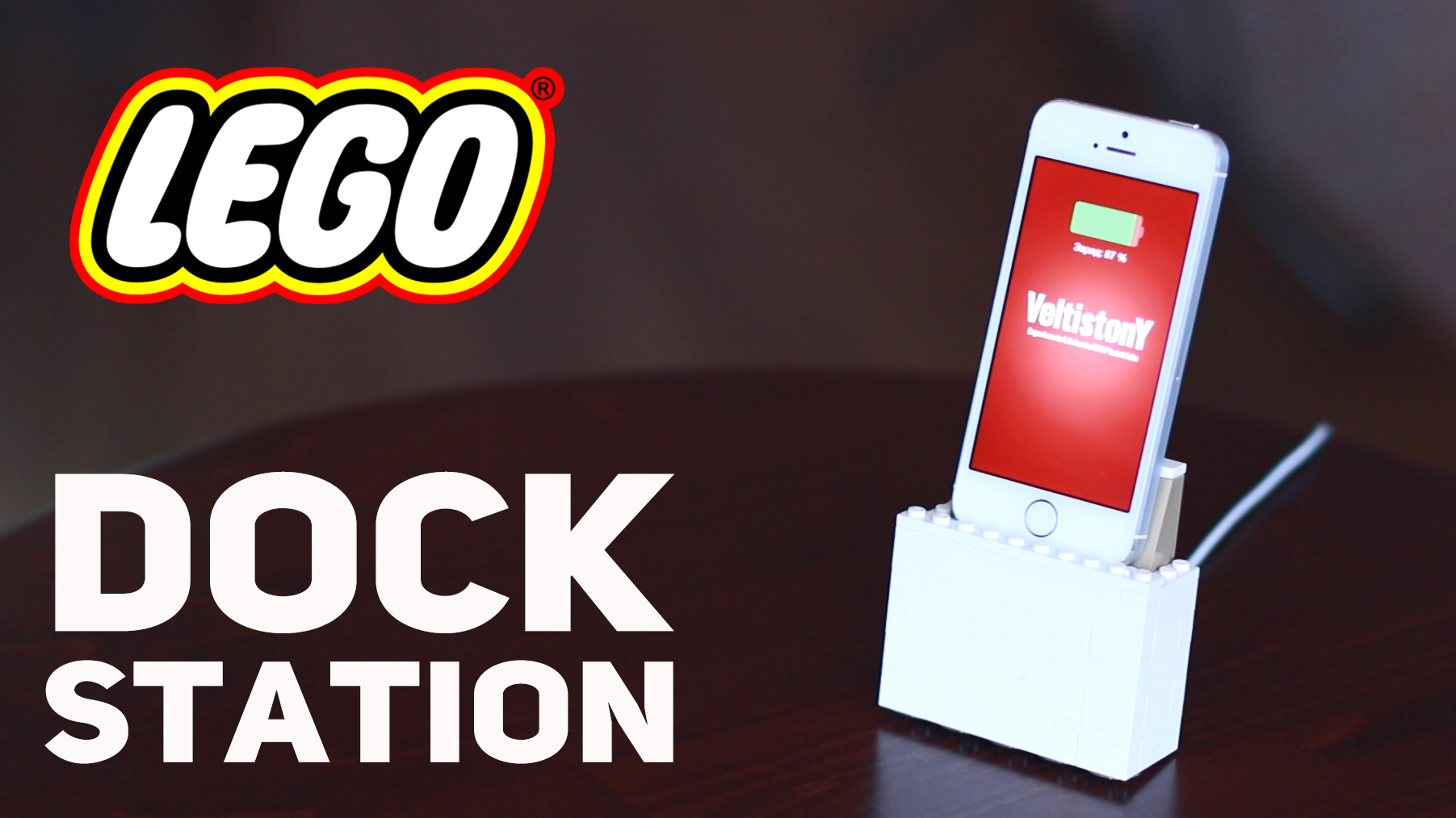 Picture of Lego Iphone Dock Station