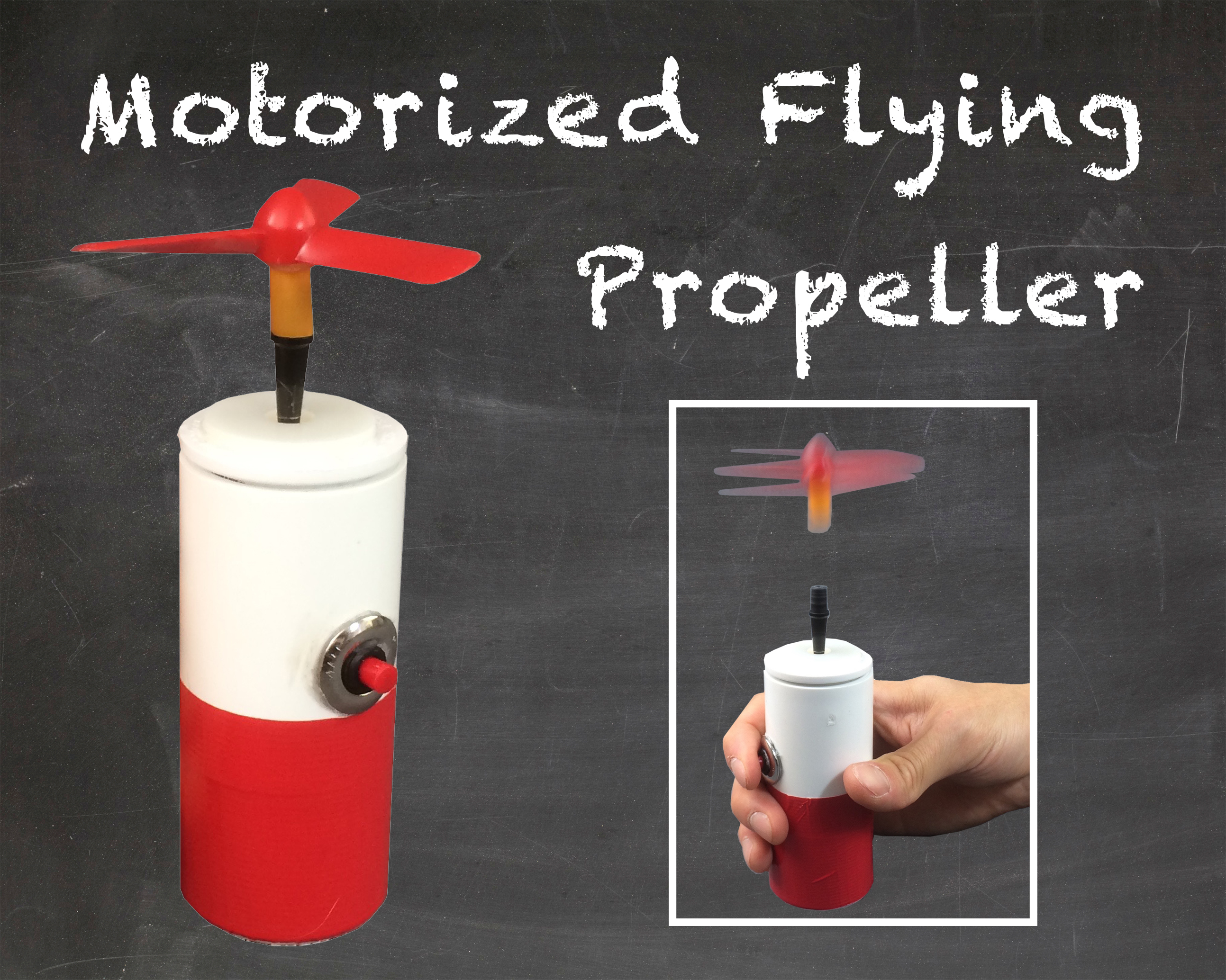 Picture of Motorized Flying Propeller