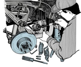 Servicing Front Brake Calipers
