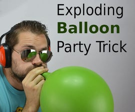 Exploding Balloon without Touching It
