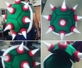 """How to Build a Super Mario: """"Bowser"""" Backpack"""