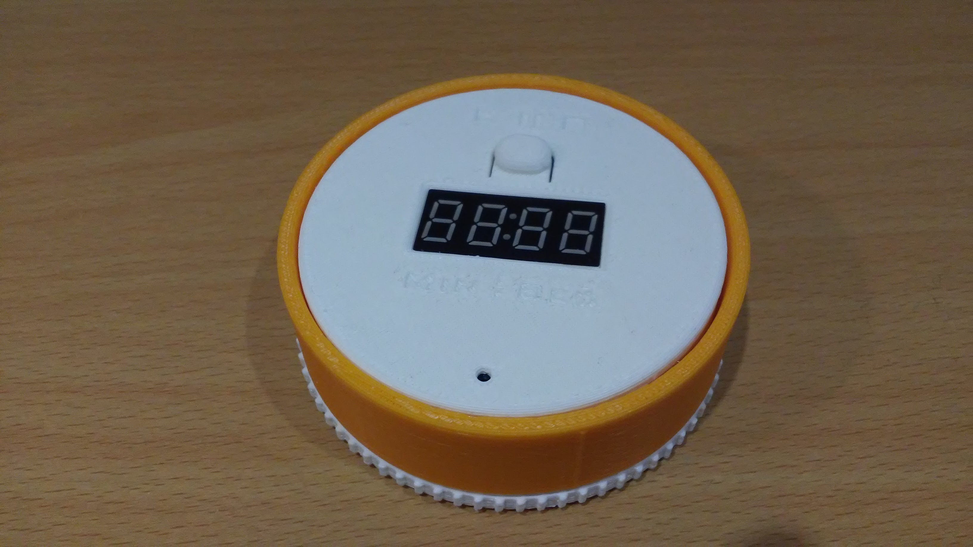 Picture of  an Attiny85 Twist-to-Set Kitchen Timer