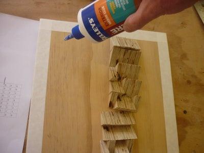 Glue Bits to Board