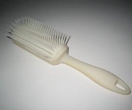 Self-cleaning Hairbrush