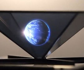 Holographic 3D easy homemade