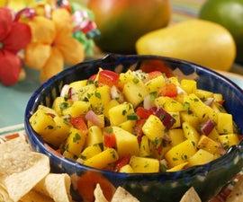 Mango Salsa #BreadWinners