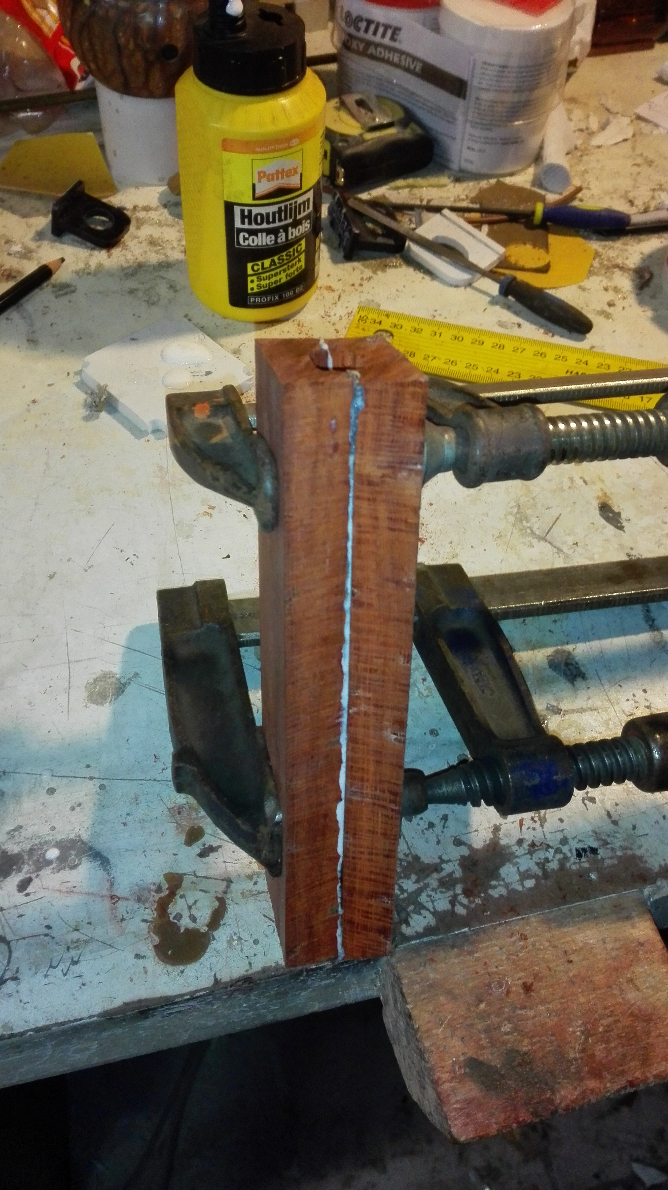 Picture of Making the Handle