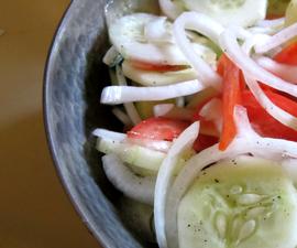 Summer Cucumber Salad