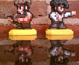 16-Bit Penny Arcade Figurines (Gabe and Tycho)