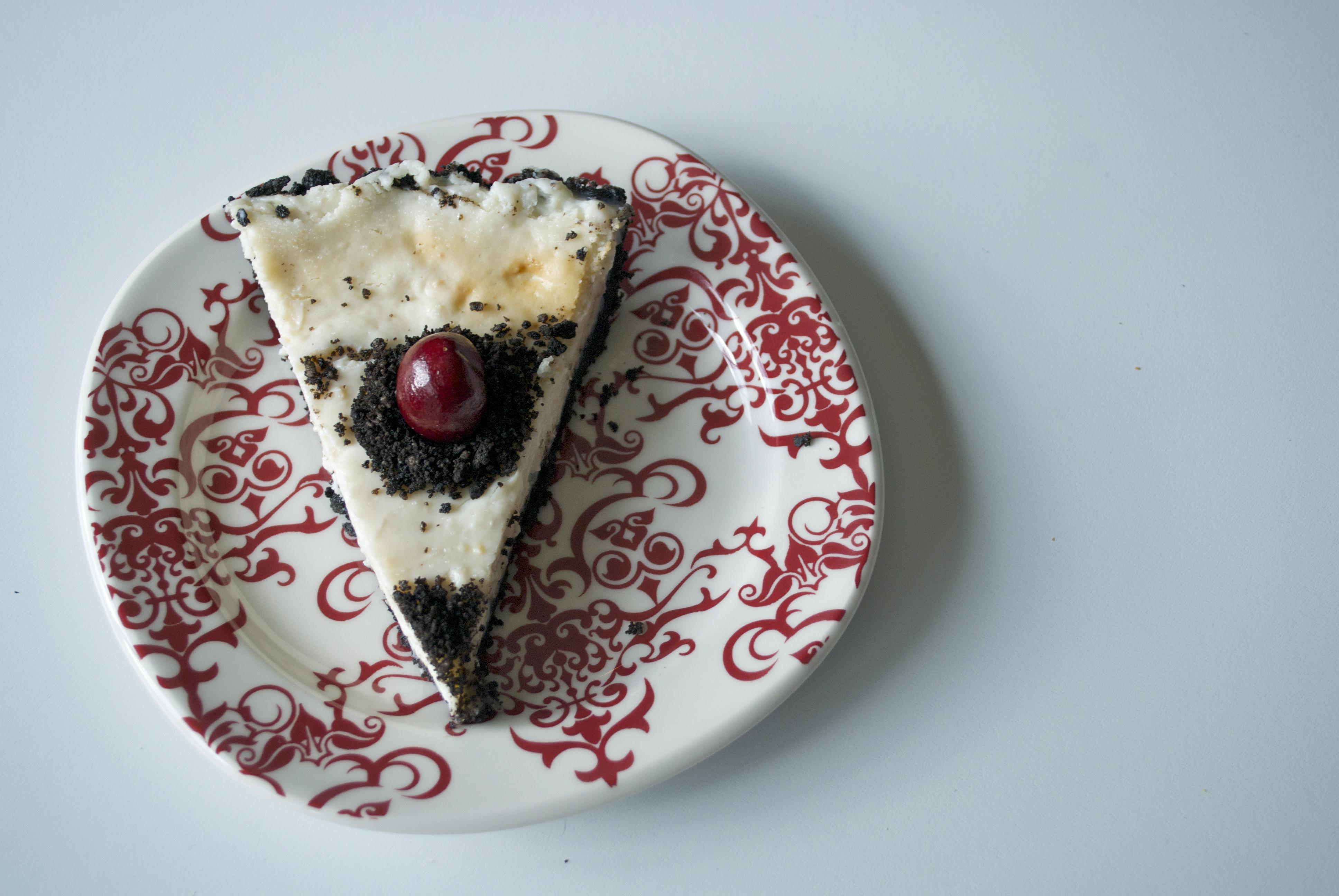 Picture of Vegan Oreo Crust Cheesecake