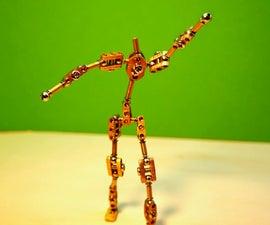 Stop Motion Puppet Armature