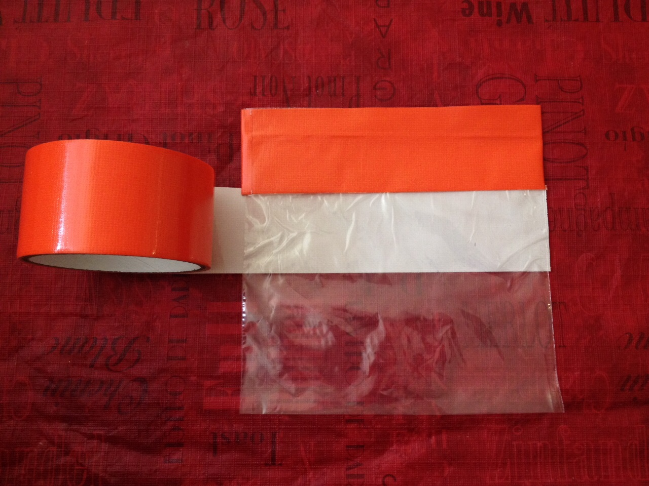 Picture of Duct Tape & Zip Lock