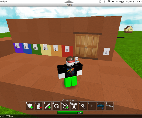 How to Make a Code Door on Roblox