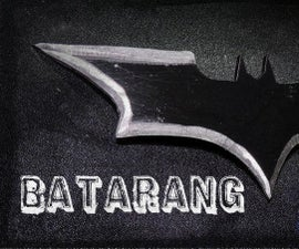 "How to make a Batarang from "" The Dark Knight """