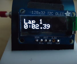 Lap Stopwatch with ATmega328 Microcontroller