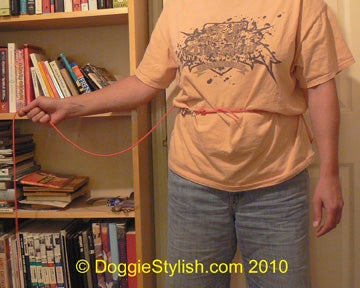 Adding Knots to the Dog Leash