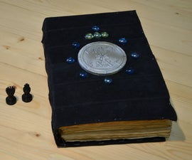 Ancient Book With Riddles Inside