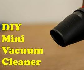 3D Printed  Mini Vacuum Cleaner