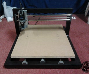 TheMaker2 Homemade CNC