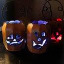 Easy DIY Color-Changing Halloween LED Decoration Lights - Pumpkin & Accent Lighting