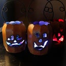 Easy DIY Color-Changing Halloween LED Decoration Lights - Pumpkin & Accent Lighting