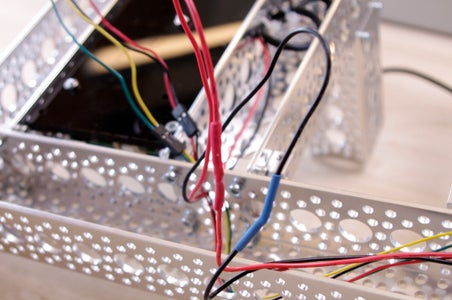 Wire the DC Motor