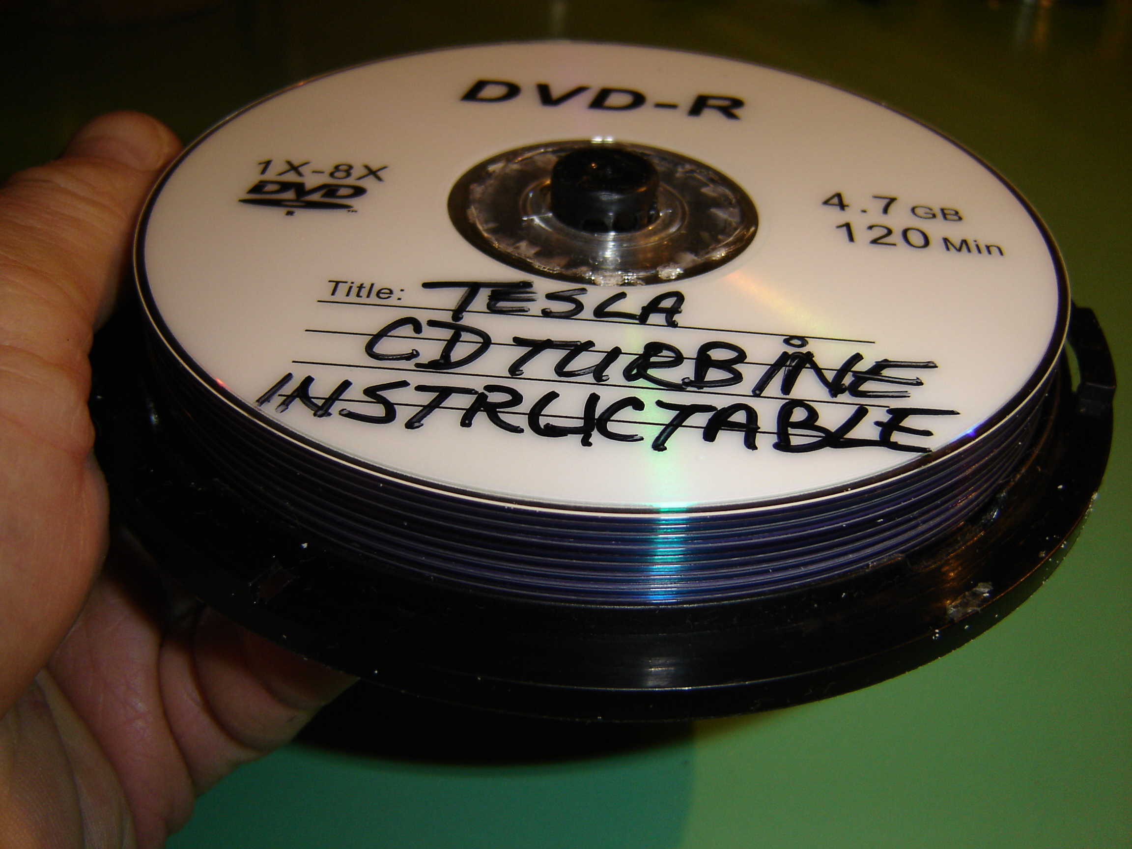 Picture of Assemble the CD Disc Pack