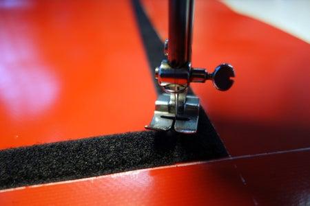 Upper Center: Sew Velcro