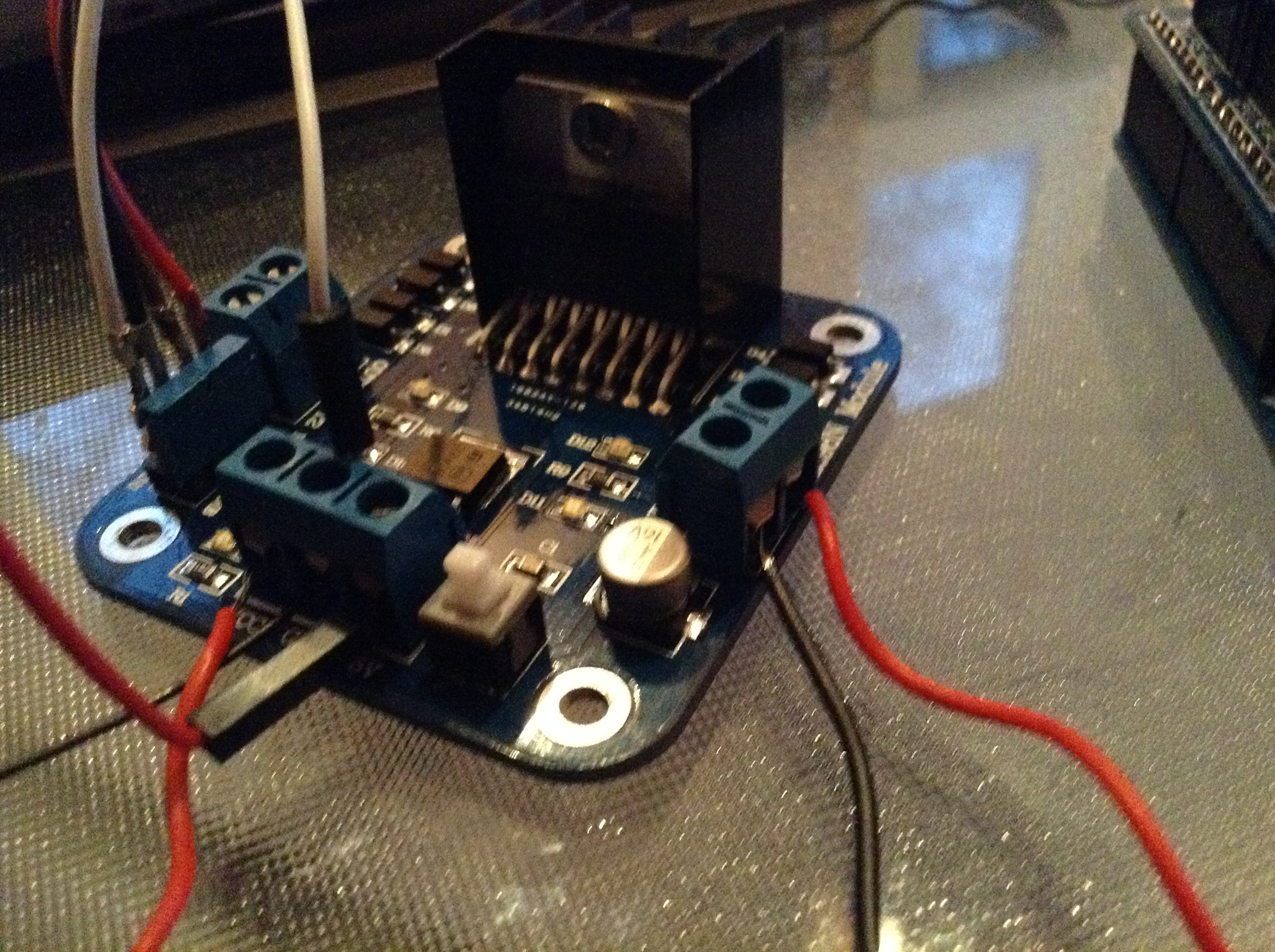 Picture of Connecting the Switch to the L298N Module