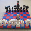 lego chess set!!
