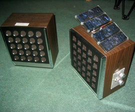 Solar Powered Amplifier