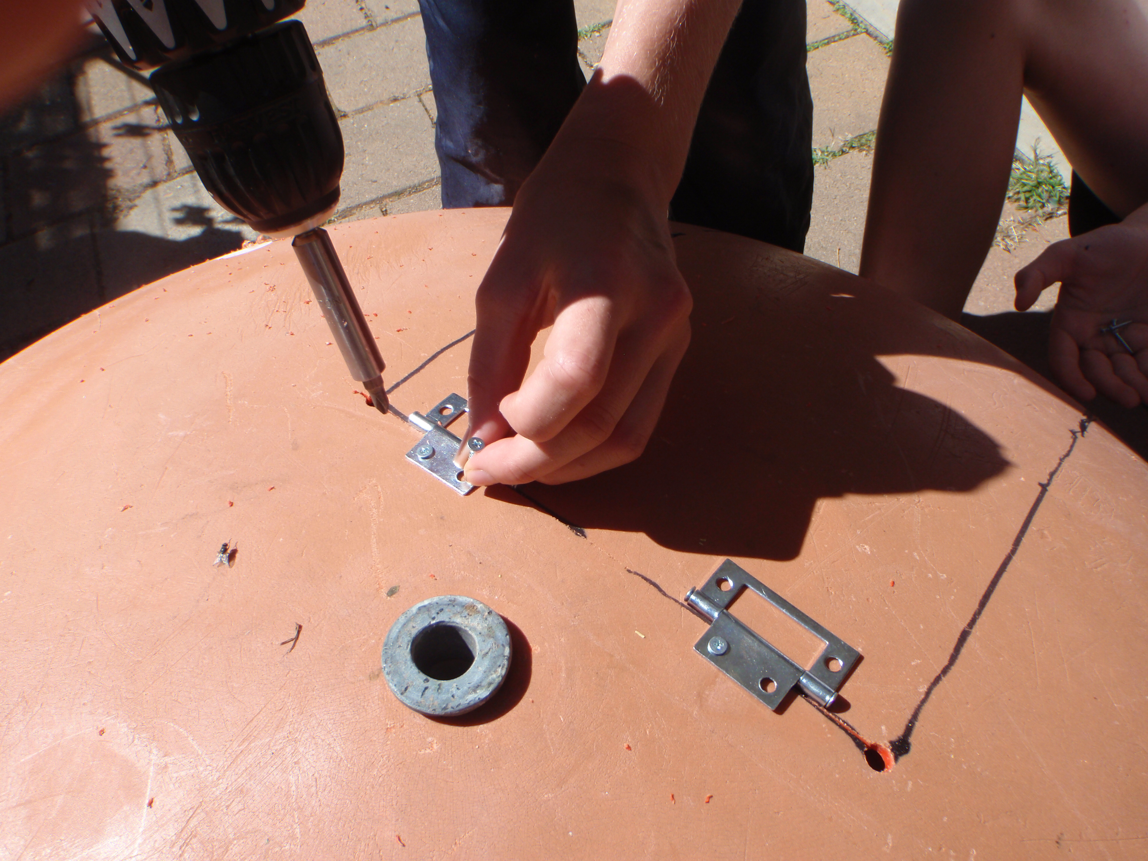 Picture of Fixing the Hinges, and More Cutting