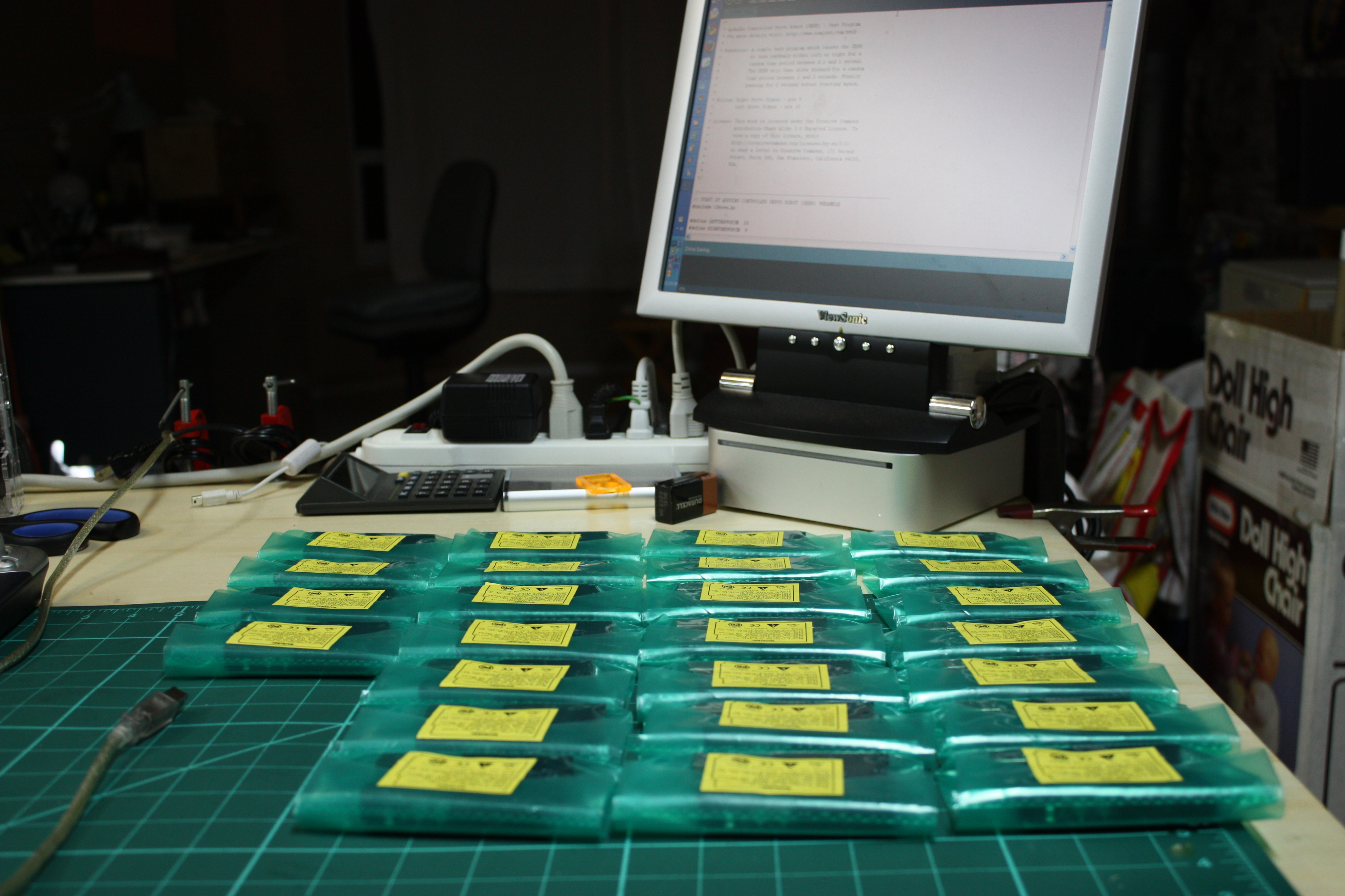 Picture of Arduino and Breadboard