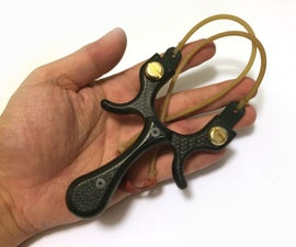 Carbon Fiber Slingshot (Advanced)