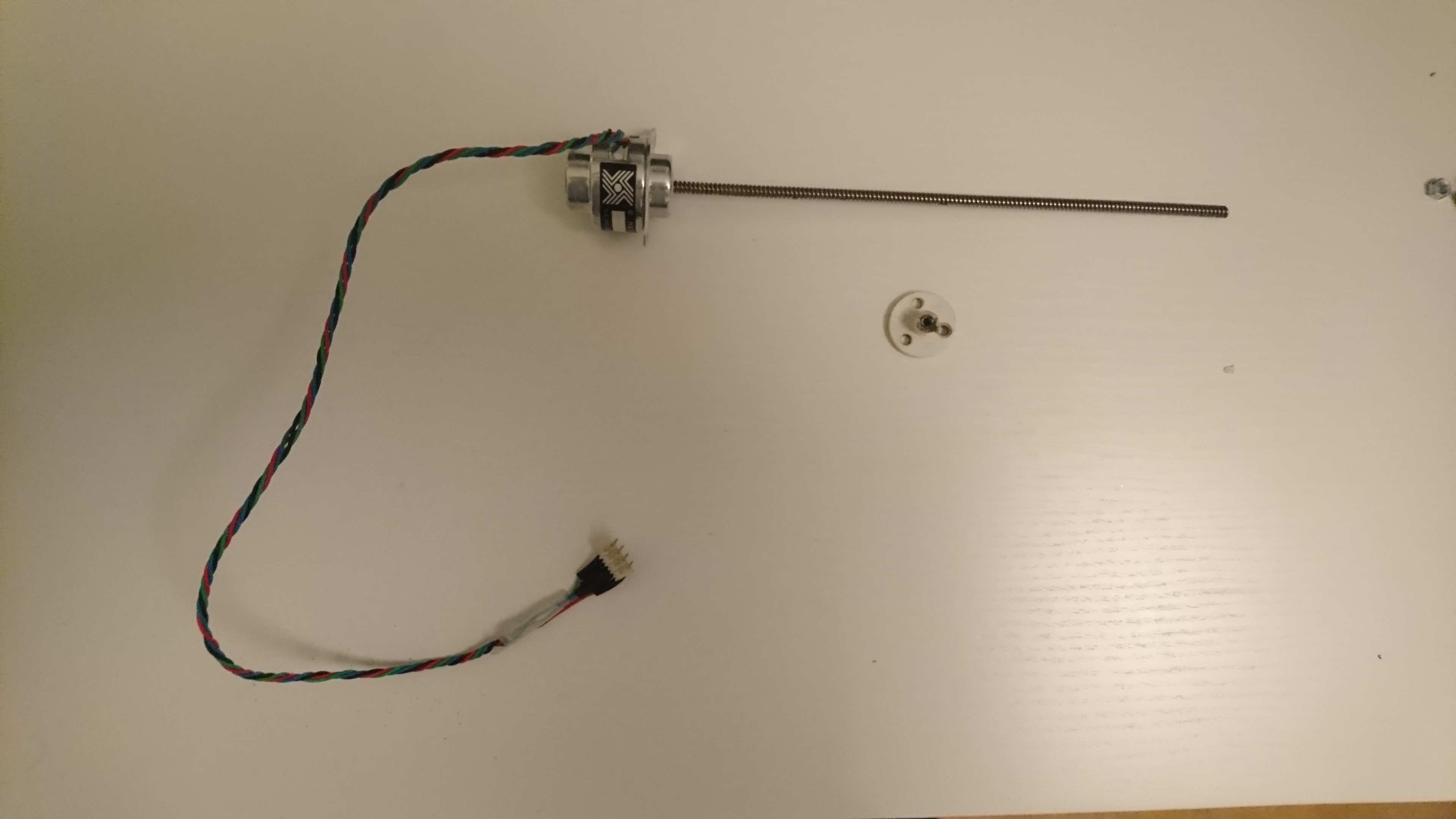 Picture of Mount the Stepper Motor